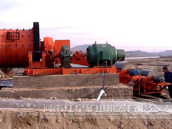 河北某钢渣选矿生产线设备配置方案