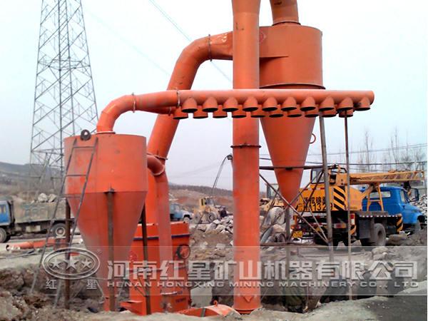 石灰石加工生产线工艺流程
