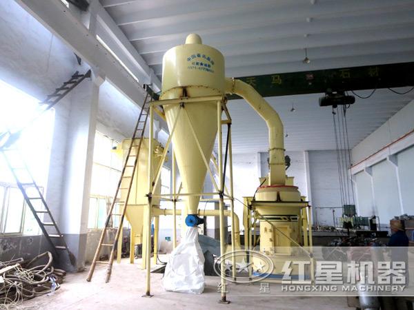 HGM磨粉机生产现场