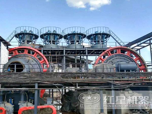 节能环保球磨机生产现场实拍