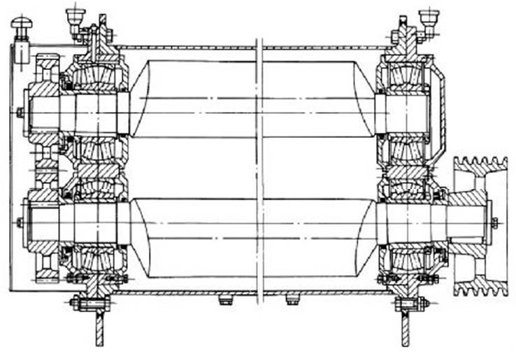 直线振动筛结构