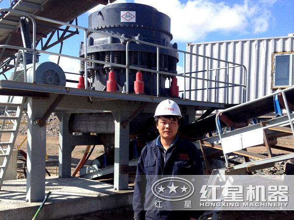 石料厂设备实拍