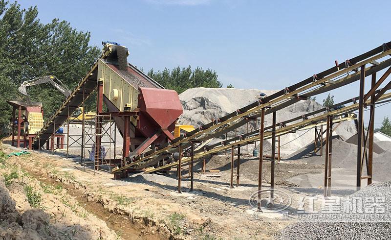 日产6千吨铁矿石破碎生产线