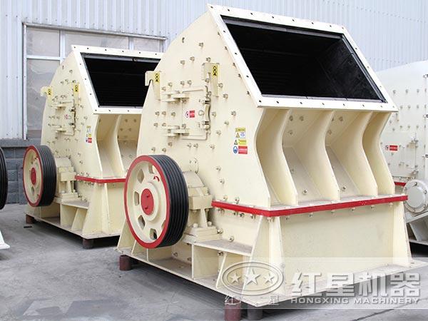 日产5000吨重锤式破碎机