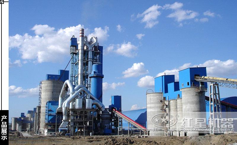 日产2000吨水泥回转窑生产线