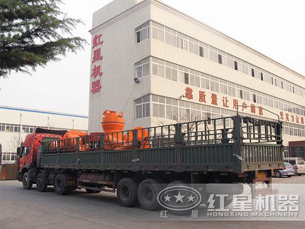 时产7-10吨石灰岩雷蒙磨粉机发货