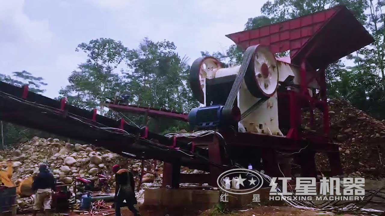时产150吨破碎生产线视频-印尼客户现场
