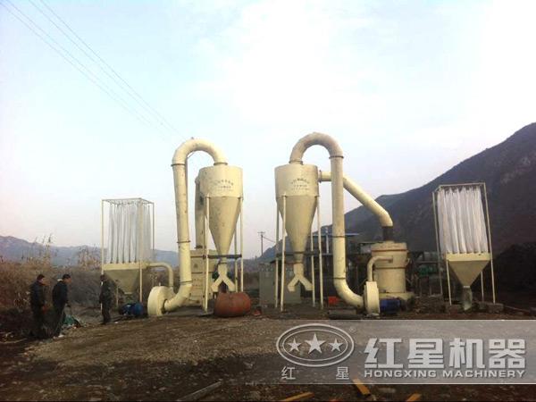 磨粉设备用户生产现场