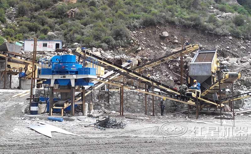 时产800方制砂生产线现场