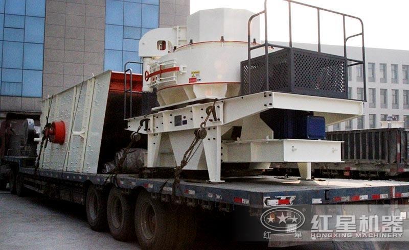 准备发往湖南的VSI5X系列离心冲击式制砂机