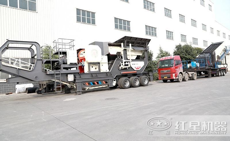 日产1000吨车载式流动碎石机