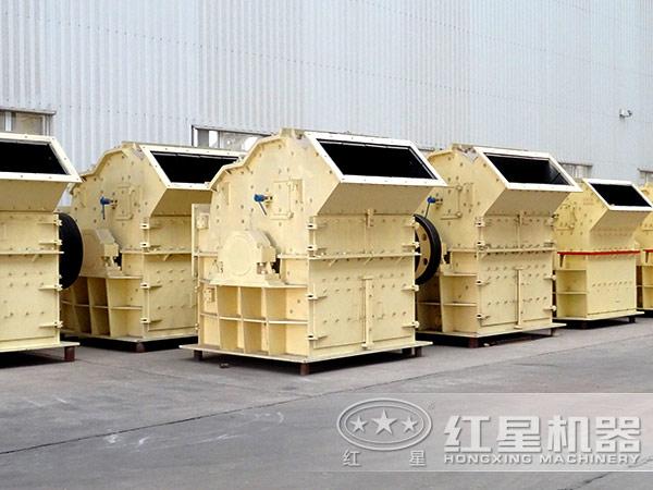 时产100吨细碎机