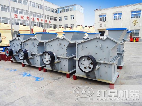 时产50吨煤矸石细碎机