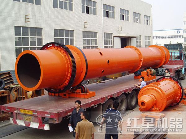 水泥厂主要生产设备装车