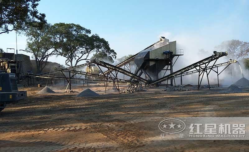 时产200吨青石生产线
