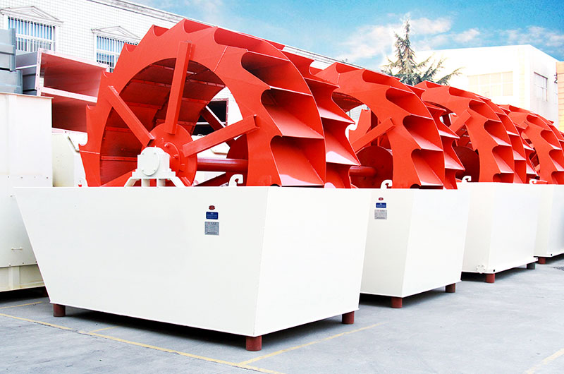 时产200吨石粉洗沙设备