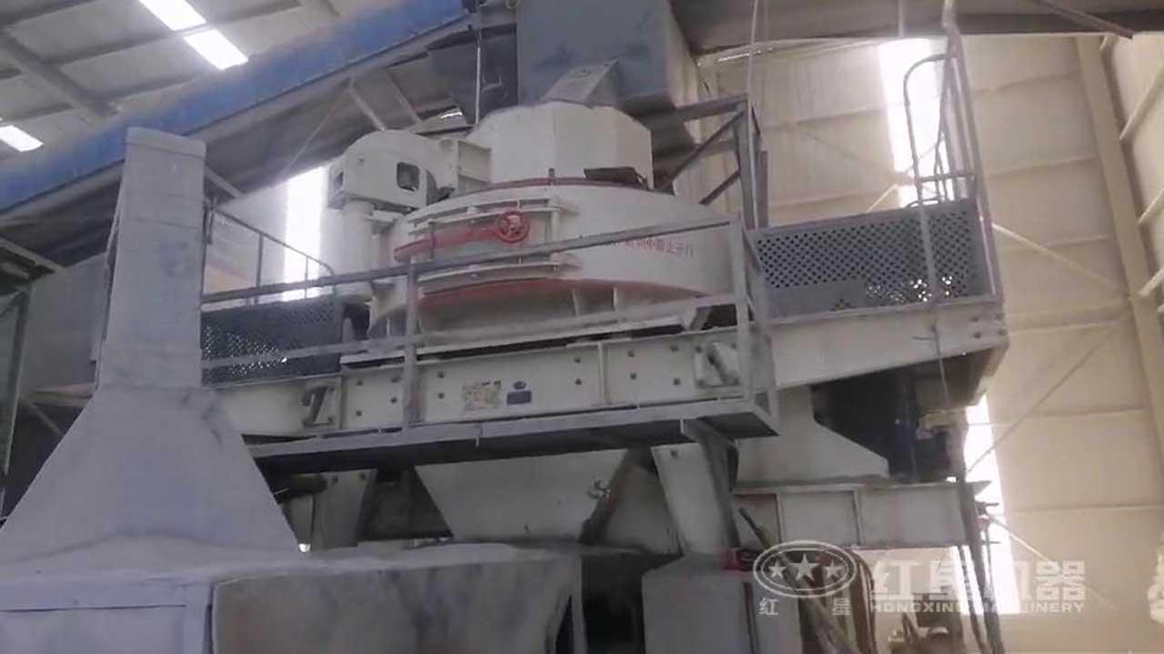 河南制砂机作业现场高清视频