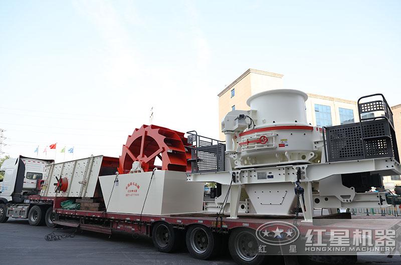 机制砂生产线设备发往山西