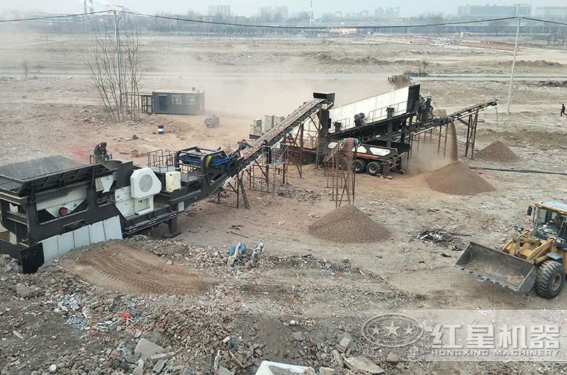北京客户建渣粉碎厂
