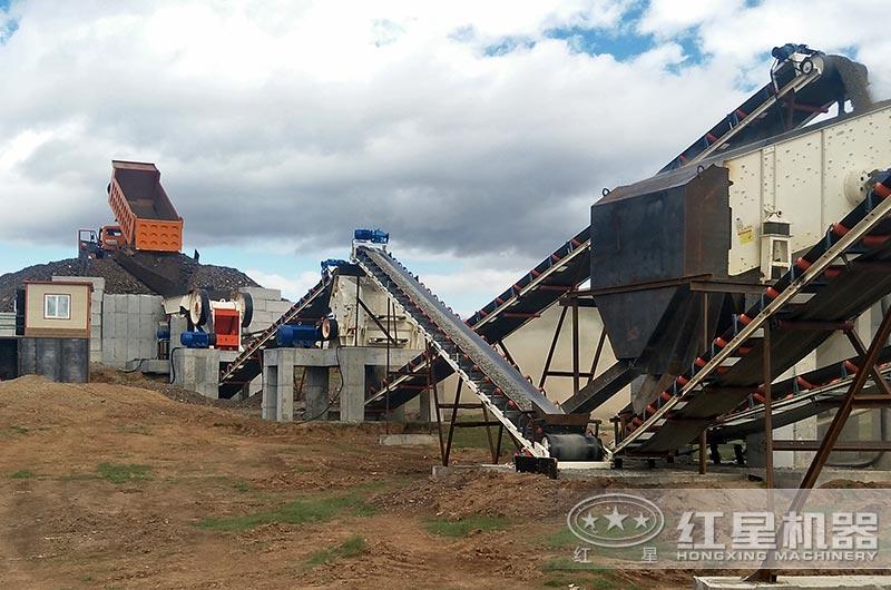 煤矸石粉碎厂
