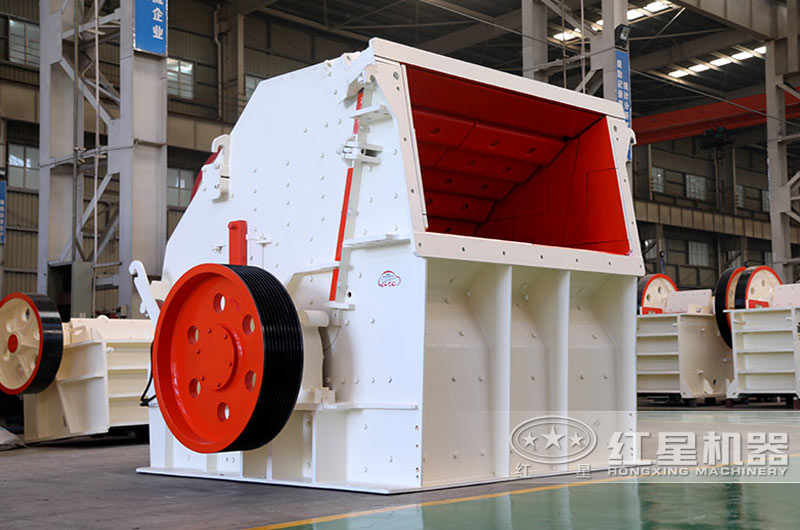 反击式矿山碎石机:针对抗压强度350兆帕以下物料