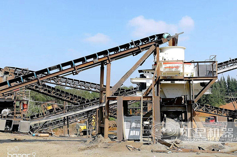 湖北漳州制砂生产线现场