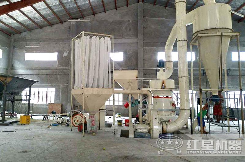 小型雷蒙磨粉机生产线