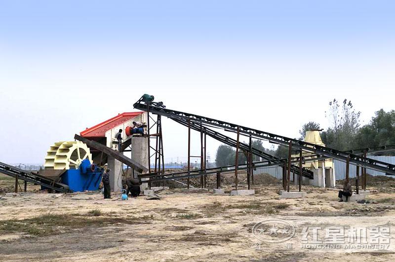 河南客户10万元开办小型沙场
