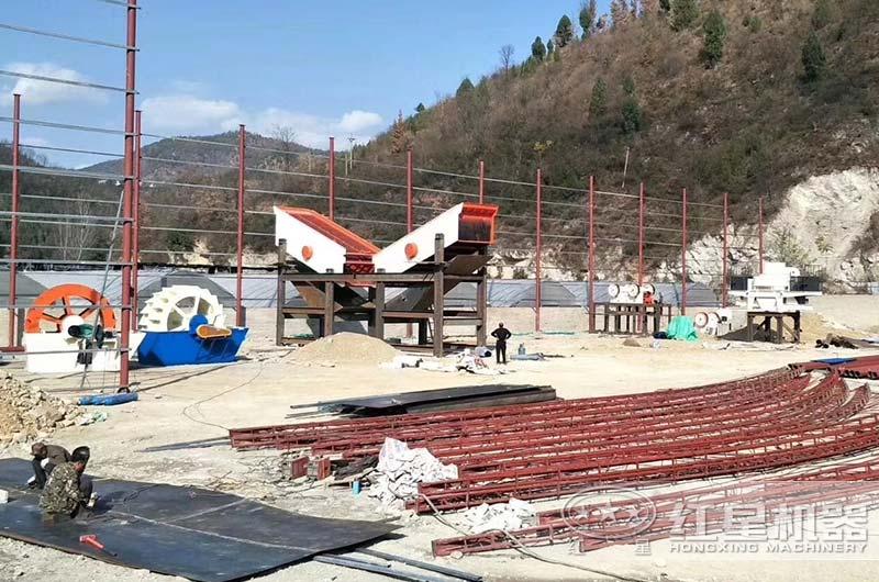 河南客户2020年开办机制砂厂