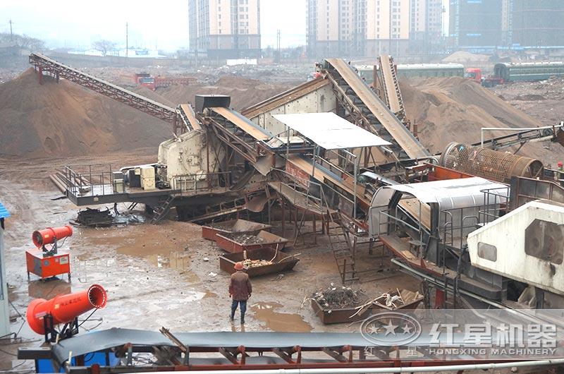 环保建筑垃圾处理厂