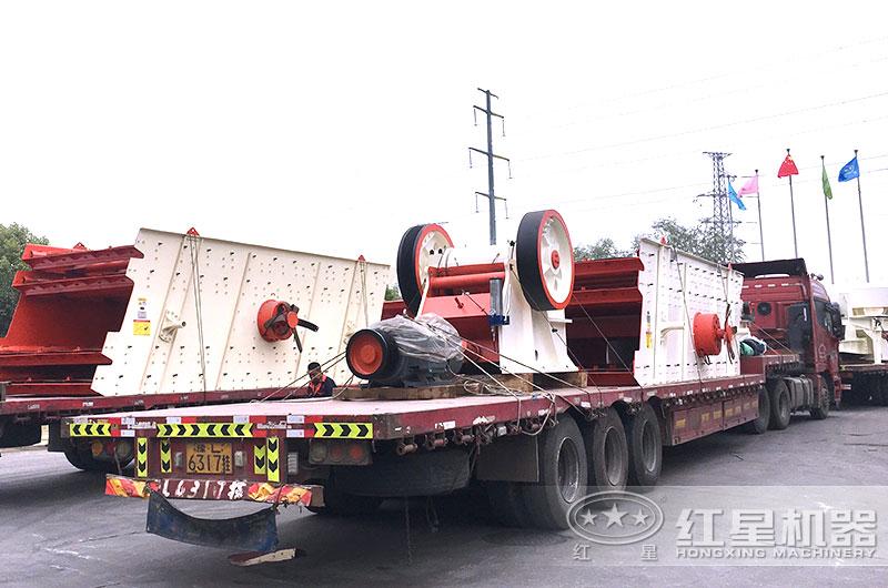 PE400×600颚式破碎机设备发货