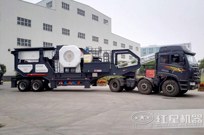 建筑垃圾处理机器装运发货