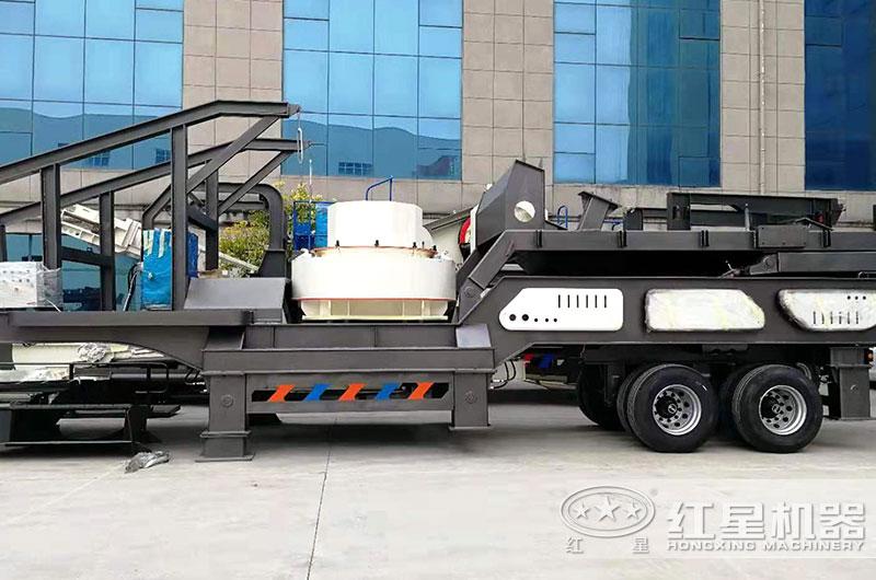 移动式制砂机灵活便捷、低能耗