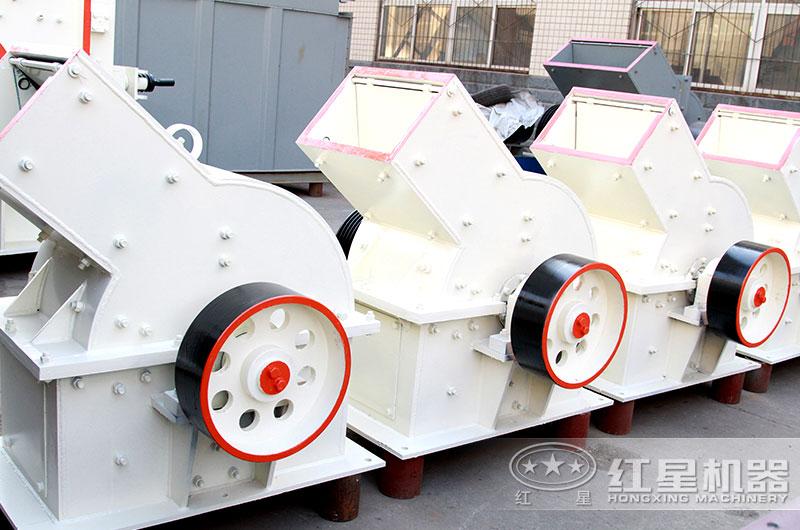 时产30吨PC锤式制砂机移动方便