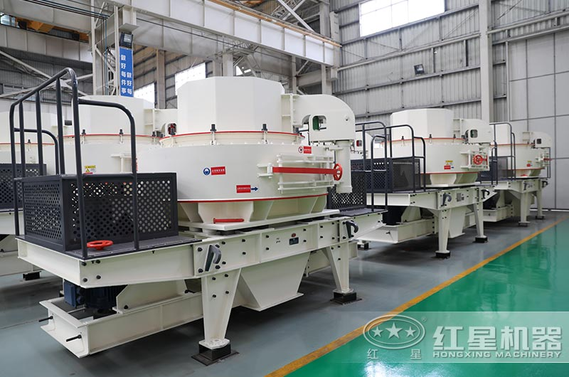 时产100吨VSI制砂机大通过、易维护