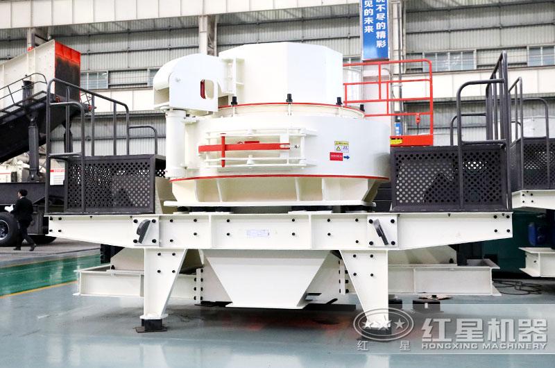 VSI制砂机成品石粉含量少
