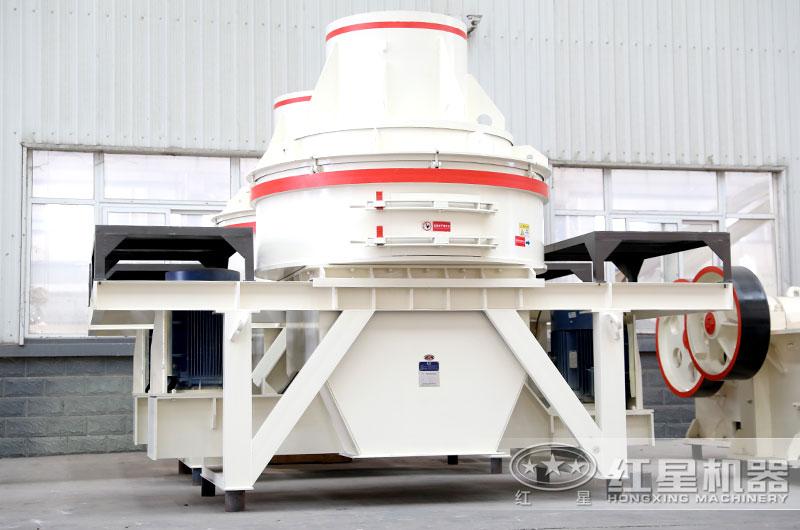 小型HX打砂机特别适合人工制砂和石料整形