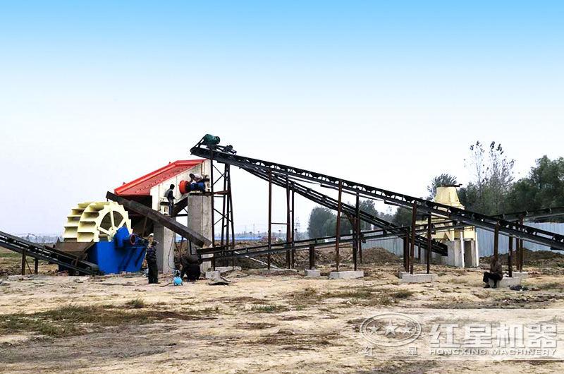 小型打砂机设备多用于中小型砂石厂