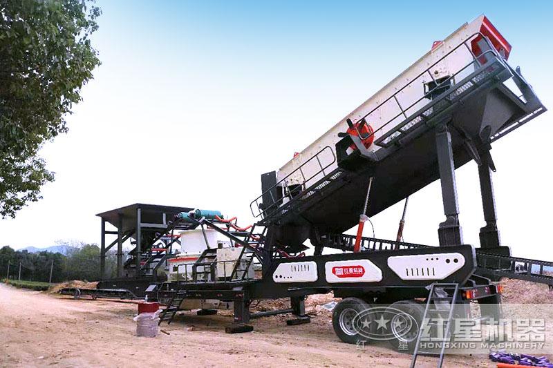 HVI制砂机配置于移动式设备中,价格更贵