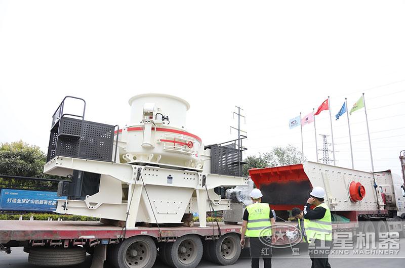 红星机械磨沙机发货出厂