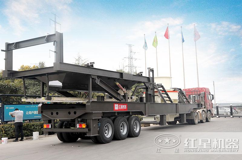 河南红星建筑垃圾制砂机发货出厂