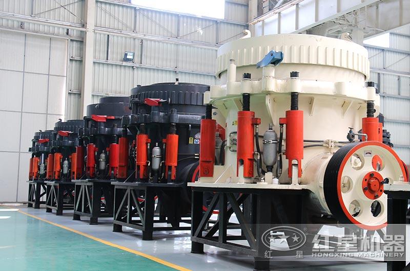 圆锥式破碎机常用于大型高产量的生产线作业