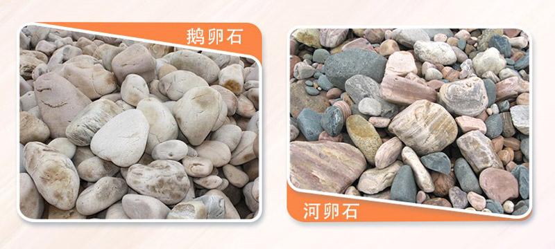 常见的两种河石