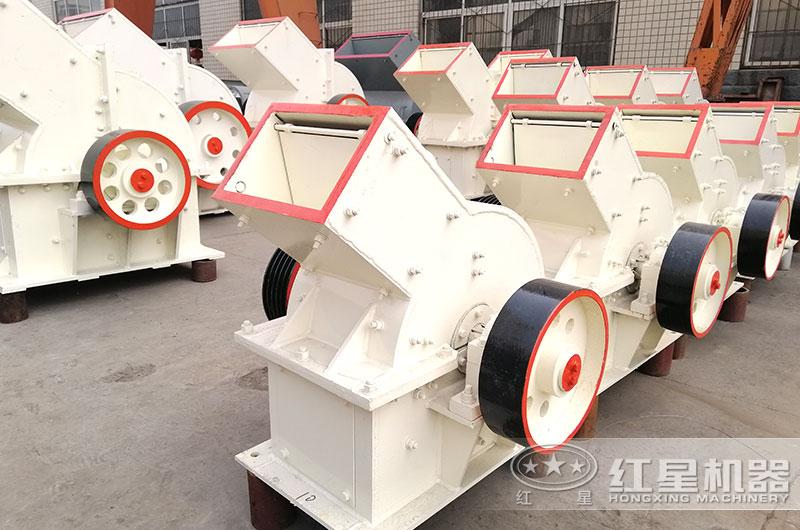 小型砂石生产设备_锤式破碎机