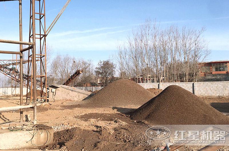 石头制成的沙子