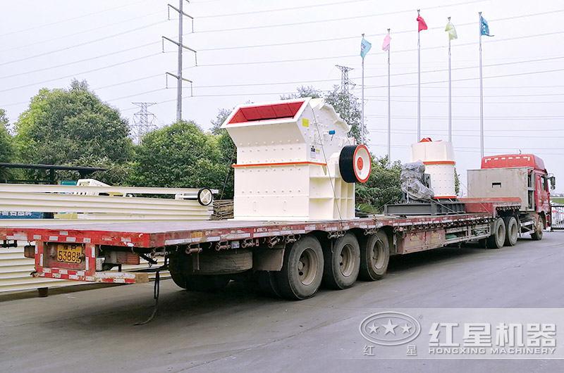 一万多小型制砂机发往江苏