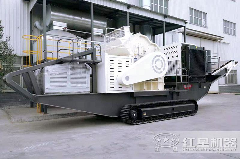 细碎机作为主机的履带式制砂机