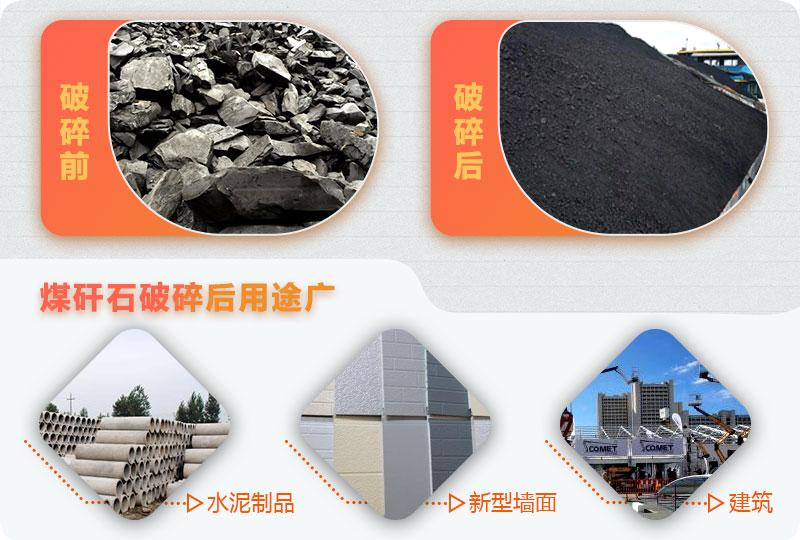 煤矸石破碎后用途广