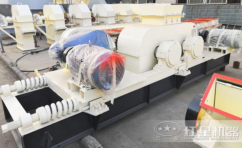 辊式制砂机设备实拍